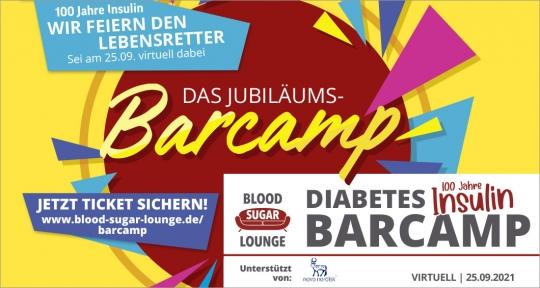 """Ticket Blood Sugar Lounge Diabetesbarcamp """"100 Jahre Insulin"""""""