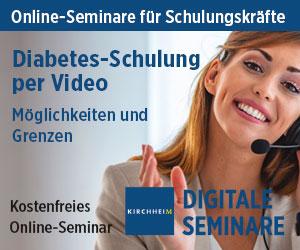"Ticket Online-Seminar ""Diabetes-Schulung per Video"""