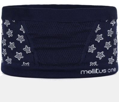 "Kinder Bauchband ""Junior belly one"" Superheld/Navy"