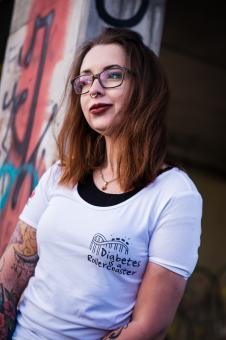 "Blood Sugar Lounge T-Shirt ""Rollercoaster"" Damen"
