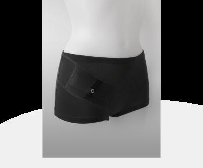 Damen Panty schwarz M