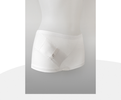 Damen Panty weiß L