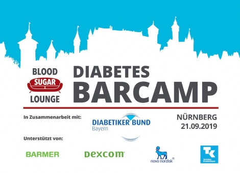 Ticket Blood Sugar Lounge Diabetes Barcamp Nürnberg