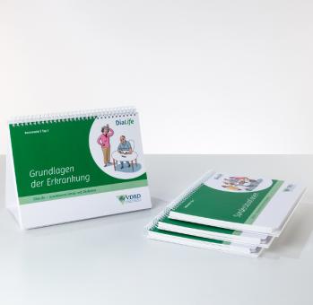 DiaLife Flipchart-Koffer Version für Typ-2-Diabetes