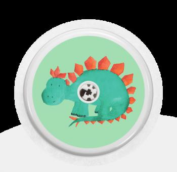 """Sticker Motiv """"Dinosaur"""" für Ihren FreeStyle Libre Sensor"""