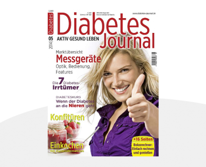 2 Probehefte Diabetes-Journal