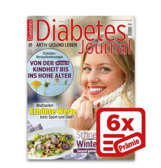 Miniabo 6x Diabetes-Journal plus Prämie