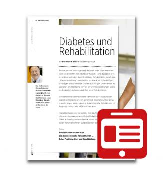 Schwerpunkt: Diabetes und Rehabilitation