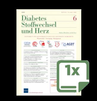 1 Probeheft Diabetes, Stoffwechsel und Herz