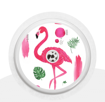 "Sticker Motiv ""Flamingo"" für Ihren FreeStyle Libre Sensor"
