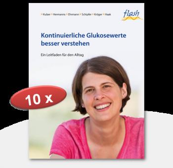 """flash Kontinuierliche Glukosewerte besser verstehen """"Verbrauchsmaterial"""""""