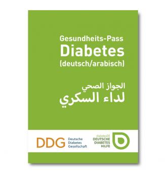 Gesundheits-Pass Diabetes (deutsch/arabisch)