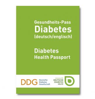 Gesundheits-Pass Diabetes (deutsch/englisch)