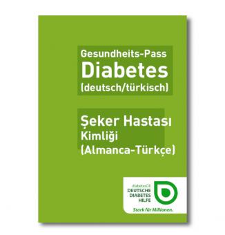 Gesundheits-Pass Diabetes (deutsch/türkisch)