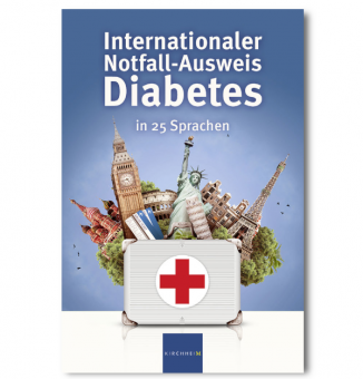 Internationaler Notfall-Ausweis Diabetes in 25 Sprachen