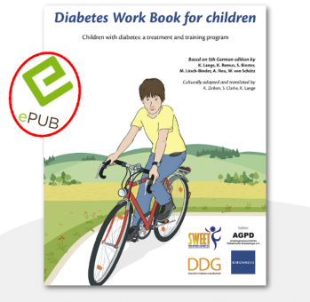 Diabetes Work Book for children E-Book (EPUB)