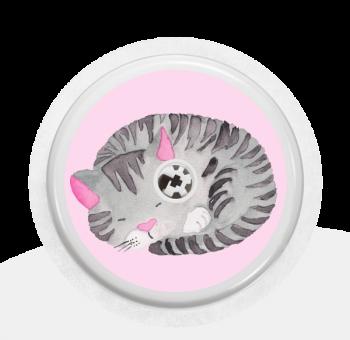 """Sticker Motiv """"Cat"""" für Ihren FreeStyle Libre Sensor"""