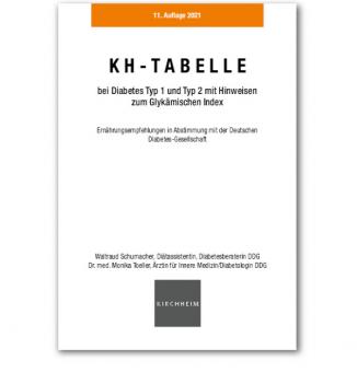 KH-Tabelle für Diabetiker