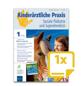 1 Probeheft Kinderärztliche Praxis