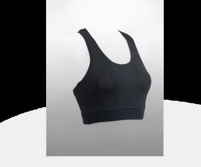Damen Sport-BH schwarz M