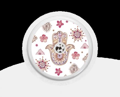 """Sticker Motiv """"Flower-Power"""" für Ihren FreeStyle Libre Sensor"""