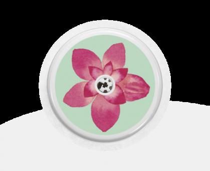 """Sticker Motiv """"Flower"""" für Ihren FreeStyle Libre Sensor"""