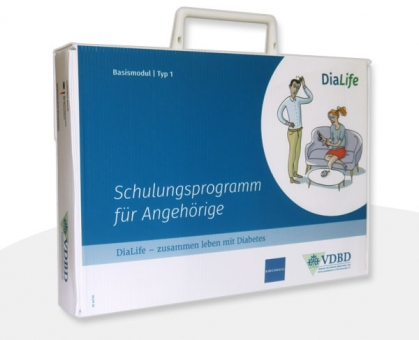 DiaLife Schulungskoffer Version für Typ-1-Diabetes