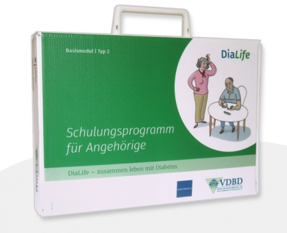DiaLife Schulungskoffer Version für Typ-2-Diabetes